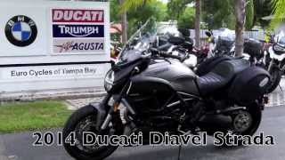 10. 2014 Ducati Diavel Strada at Euro Cycles of Tampa Bay