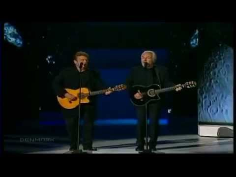 Video Eurovision 2000 Winner - Denmark Olsen Brothers -Fly On The Wings Of Love HQ download in MP3, 3GP, MP4, WEBM, AVI, FLV January 2017