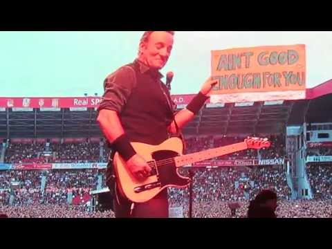 Bruce Springsteen - Ain't Good Enough For You - Gijón 26 June 2013