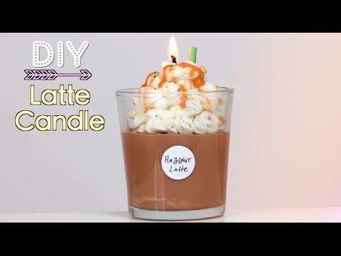 diy - candela starbucks al cappuccino