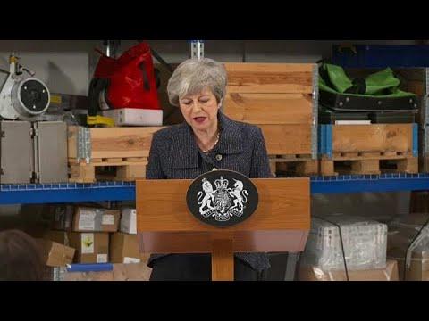Brexit: Τελευταίες προσπάθειες της Μέι για συμφωνία