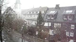 Hirschberg an der Bergstr Germany  City new picture : Snow in Hirschberg Germany