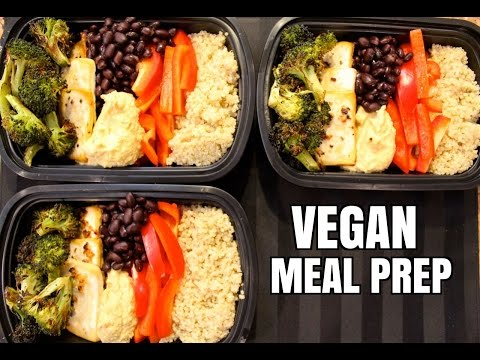How to Meal Prep - Ep. 9 - VEGAN ($3.25/Meal)