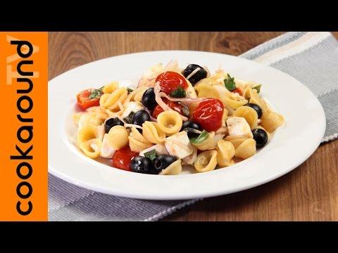 pasta fredda alla greca - ricetta