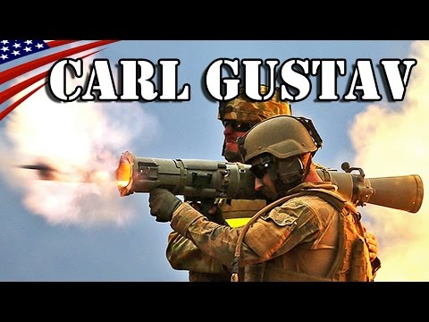 Carl Gustav M3 84mm Recoilless Rifle Fire Training