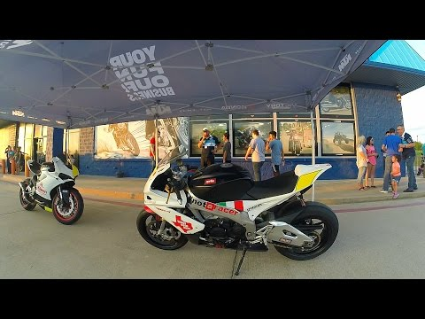 Killeen Powersports Bike Night! Ducati 959 BURNOUT!