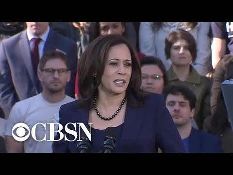 Kamala Harris launches 2020 campaign with Oakland rally
