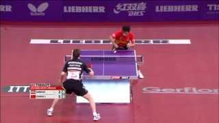 Table Tennis Highlights, Video - 2013 WTTC MS-R16: Robert Gardos - Zhang Jike (full match|short form)