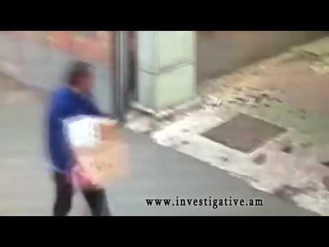 Գողություն` կայանված ավտոմեքենայի սրահից (տեսանյութ, լուսանկար)