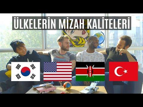 4 FARKLI MILLETİN MİZAH SAVAŞI / EN KOMİK MİLLET HANGİSİ? | 3 Yabancı 1 Türk #10