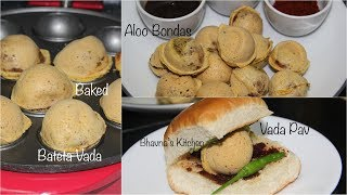 Baked - no fry Bateta Vadas (Aloo Bondas) to prepare yummy Vada Pav. Now, that's called guilt free eating your favorite traditional treats with modern health approach!Subscribe : https://www.youtube.com/subscription_center?add_user=superveggiedelightMore recipes at http://www.bhavnaskitchen.comMulti Treat Baker at http://amzn.to/2rSimcmElectric Cooker at http://amzn.to/2qx3YGGChopper at http://amzn.to/2sbgqZHE-store: http://astore.amazon.com/indian0c-20Topics @ http://www.desiviva.comDownload Bhavna's Kitchen apps for Android, iPhone and iPadFACEBOOK http://www.facebook.com/superveggiedelightTWITTER http://www.twitter.com/bhavnaskitchenINSTAGRAM https://www.instagram.com/bhavnaskitchen/PINTEREST https://www.pinterest.com/bhavnaskitchenProducts in this video:Babycakes Multi-Treat Baker - http://amzn.to/2sOd3LT