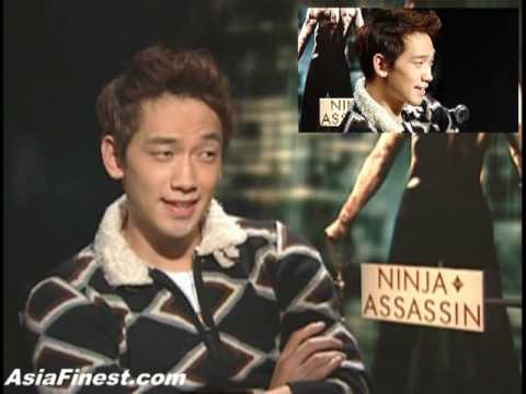 Korean Rain Bi � Ninja Assassin Movie Interview in New York City. Jung Ji Hoon