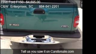 1998 Ford F150 XLT SuperCab Flareside 2WD - for sale in Will