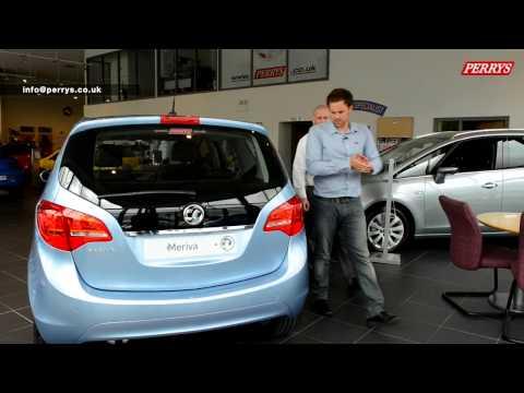 Vauxhall Meriva presented by Paul O'Neil