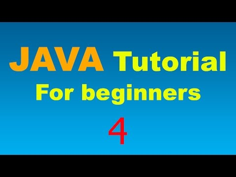 Java Tutorial for Beginners – 4 – More on Operators