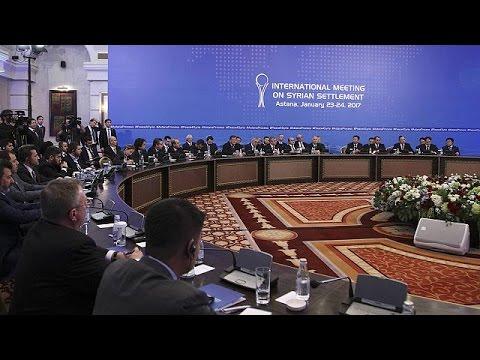 Συρία: Ξεκίνησαν οι ειρηνευτικές συνομιλίες στην Αστάνα