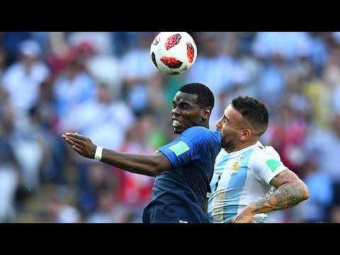 Fußball-WM 2018 Achtelfinale: Frankreich ist im WM-V ...