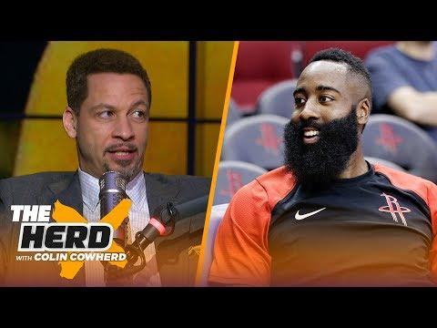 Chris Broussard talks James Harden's MVP pace, the Lakers & Jimmy Butler's attitude | NBA | THE HERD
