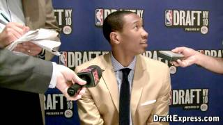 Wesley Johnson - 2010 NBA Draft Media Day - DraftExpress