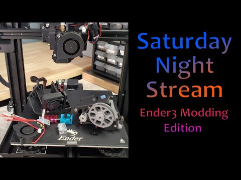 Modding the Ender3 while we wait on Ali orders Livestream