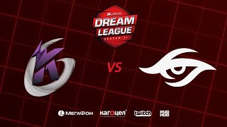 Keen Gaming vs Team Secret, DreamLeague Season 11 Major, bo3, game 2 [Jam & Maelstorm]
