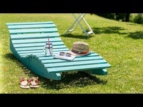 How-to Guide - Building a garden lounger