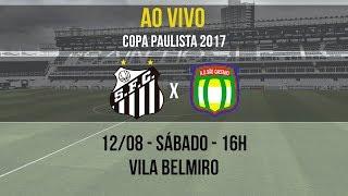 É AO VIVO! O Santos B recebe o São Caetano, na Vila, pela oitava rodada da Copa Paulista 2017 e você acompanha AO VIVO!Inscreva-se na Santos TV e fique por dentro de todas as novidades do Santos e de seus ídolos! http://bit.ly/146NHFUConheça o site oficial do Santos FC: www.santosfc.com.brCurta nossa página no facebook: http://on.fb.me/hmRWEqSiga-nos no Instagram: http://bit.ly/1Gm9RCSSiga-nos no twitter: http://bit.ly/YC1k82Siga-nos no Google+: http://bit.ly/WxnwF8Veja nossas fotos no flickr: http://bit.ly/cnD21USobre a Santos TV: A Santos TV é o canal oficial do Santos Futebol Clube. Esteja com os seus ídolos em todos os momentos. Aqui você pode assistir aos bastidores das partidas, aos gols, transmissões ao vivo, dribles, aprender sobre o funcionamento do clube, assistir a vídeos exclusivos, relembrar momentos históricos da história com Pelé, Pepe, e grandes nomes que só o Santos poderia ter.Inscreva-se agora e não perca mais nenhum vídeo! www.youtube.com/santostvoficial-------------------------------------------------------------** Subscribe now and stay connected to Santos FC and your idols everyday!http://bit.ly/146NHFUVisit Santos FC official website: www.santosfc.com.brLike us on facebook: http://on.fb.me/hmRWEqFollow us on Instagram: http://bit.ly/1Gm9RCSFollow us on twitter: http://bit.ly/YC1k82Follow us on Google+: http://bit.ly/WxnwF8See our photos on flickr: http://bit.ly/cnD21UAbout Santos TV: Santos TV is the official Santos FC channel. Here you can be with your idols all the time. Watch behind the scenes, goals, live broadcasts, hability skills, learn how the club works, exclusive videos, remember historical moments with Pelé, Pepe and all of the awesome players that just Santos FC could have. Subscribe now and never miss a video again! www.youtube.com/santostvoficial