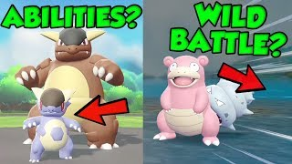 WILD BATTLES AND ABILITIES SHOWN IN NEW POKEMON LET'S GO TRAILER?!? by Verlisify