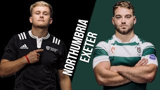 LIVE BUCS SUPER RUGBY 18/19: Northumbria vs Exeter