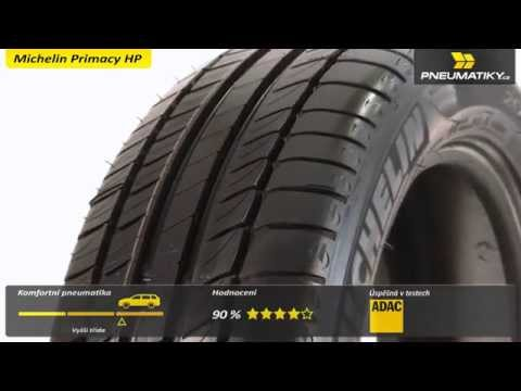 Youtube Michelin Primacy HP 225/50 R17 94 Y * GreenX Letní