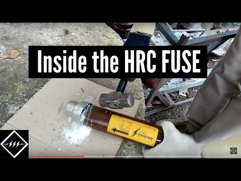 What is Inside the 11kV HRC Fuse | TheElectricalGuy