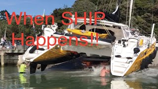 Video When Ship Happens, A complete rebuild of the bow thruster on the AMEL Super Maramu MP3, 3GP, MP4, WEBM, AVI, FLV Agustus 2019