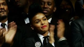 Janelle Monáe Supports President Obama