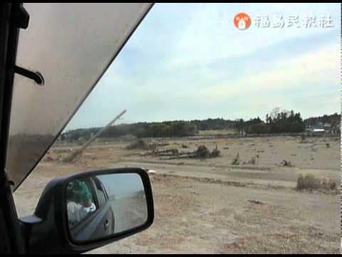 県警、警視庁による南相馬市原町区での捜索[3](2011/4/7)