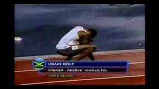 Usain 'Lightning' Bolt 9.72WR