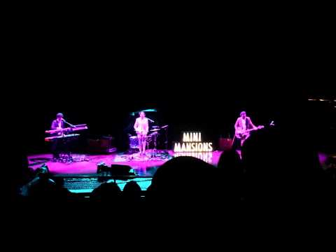 Mini Mansions with Alex Turner () live at Red Rocks