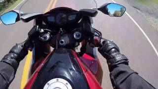 4. Taking out a 2010 Honda VFR 1200