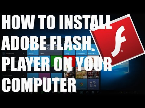 How to Install Adobe Flash Player on Windows 10/8/7/Vista/XP