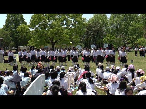 ブラスエキスポ2014 交歓コンサート 詳徳中学校〜嵯峨中学校