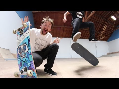 CAN AARON WIN HEELFLIPS ONLY GAME OF SKATE?! (видео)