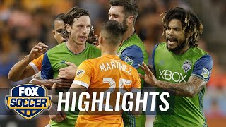 Houston Dynamo vs. Seattle Sounders FC | 2017 MLS Playoff Highlights by FOX Soccer