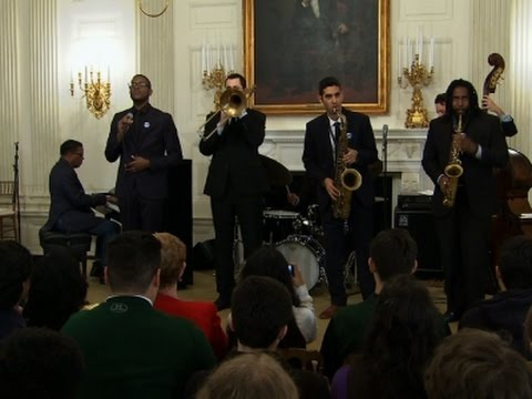 First Lady: 'Just About Everybody Loves Jazz'