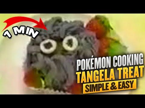 Pokémon Cooking - Tangela Treat (English Subbed)