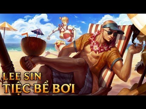 Lee Sin Tiệc Bể Bơi
