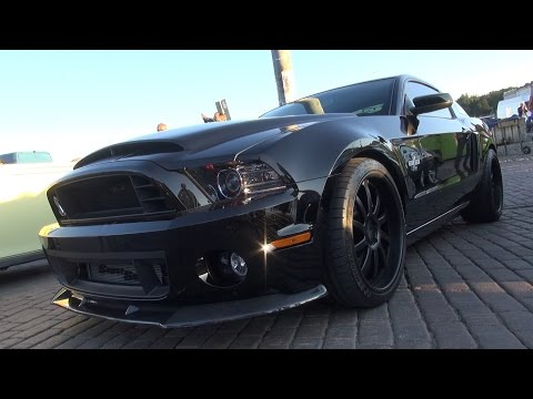 Shelby GT500 sound and accelaration