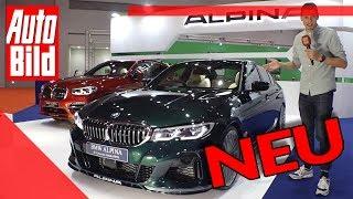 BMW Alpina B3 Limousine (2020): Neuvorstellung - Tuning - Motor S58 - Reihensechser by Auto Bild