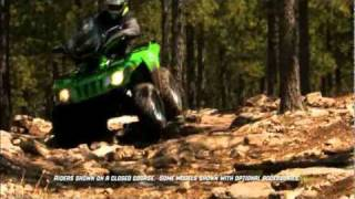1. 2010 Arctic Cat 550 S Work Utility ATV
