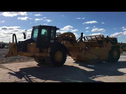 CATERPILLAR SCHÜRFZÜGE 627K equipment video F0F2fB79xbI