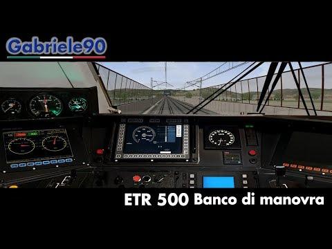 Cabina ETR 500 FRECCIAROSSA - [Open Rails]