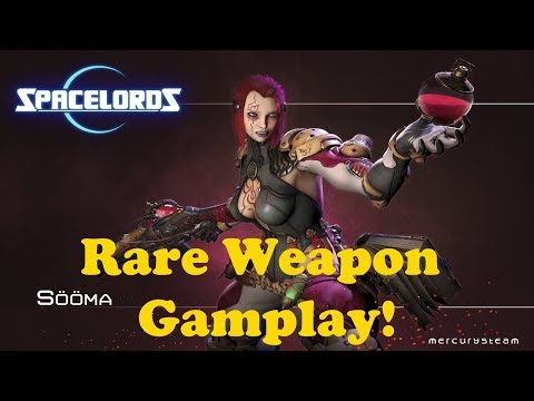 Sööma Rare Weapon Catharsis Gameplay - Spacelords Sooma